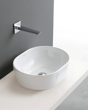 Althea Ceramica Cover Countertop Bathroom Sinks