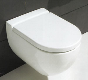 Axa One Vaso Sospeso Bathroom Toilets