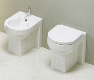 Axa Rond Back to Wall Toilets