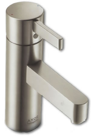 Axor Steel Bathroom Taps