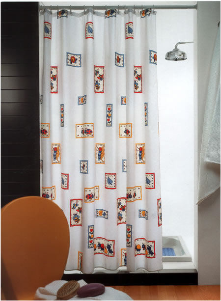 Gedy Bakar Shower Curtain