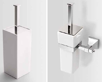 Bath&Bath Timeless Toilet Brush Holders