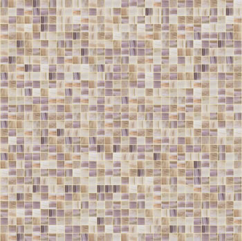 Bathroom on Bisazza Leonora Mosaic Tiles