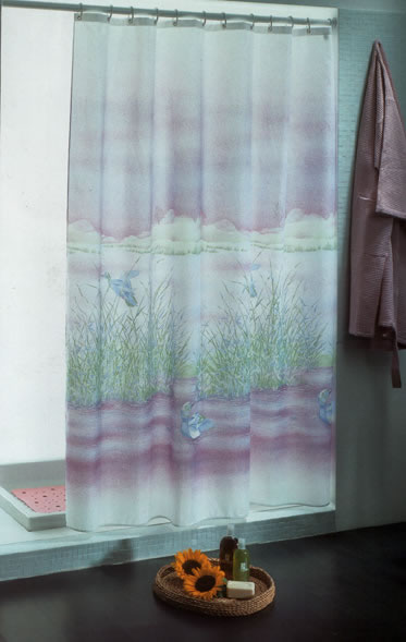 Gedy Carmague Shower Curtain