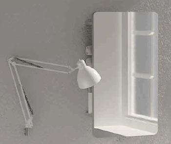 NIC Design Oltre Bathroom Mirrors