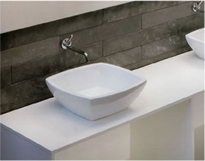 Art Ceram Fuori Quadro Bathroom Washbasins
