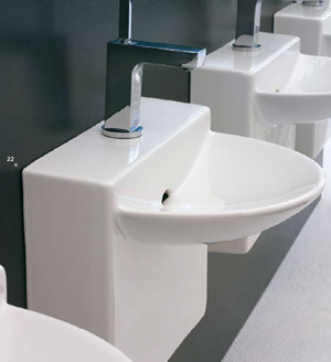 Bathroom Sinks, Modern Bathroom Design, Interior Architecture, Interior Design, Contemporary Bathrooms, Designer Bathrooms, Bathroom Tiles, Designer Washbasins, Designer Basins,  Modern & Contemporary Bathroom