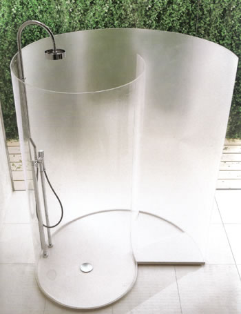 Agape Chiocciola Shower Enclosures