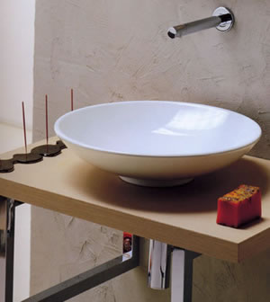 Scarabeo Cup Countertop Basins