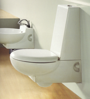 Ceramica Dolomite Piano Bathroom Toilets