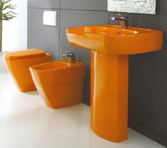 Toilets, Designer Bathroom, Contemporary Bathrooms, Bathroom Sinks, Modern Bathroom Design, Interior Architecture, Interior Design, Bathroom Tiles, Bathroom Suites, Designer Washbasins, Toilet