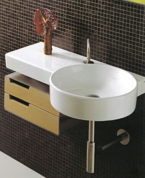 Simas Flow Bathroom Sinks