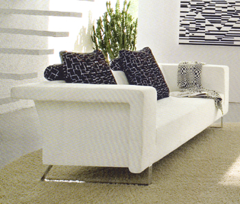Calligaris Energy contemporary sofa - giant.co.uk :  interior design designer furniture seating white