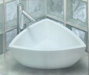 Art Ceram Fuori Corner Bathroom Basins