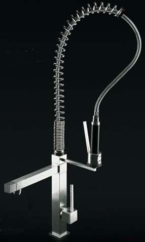 Gessi Quadro Hi Tech Kitchen Taps