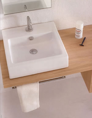 Ceramica Esedra Squeak Bathroom Sinks