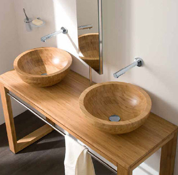 Lineabeta Acquaio Wood Basins