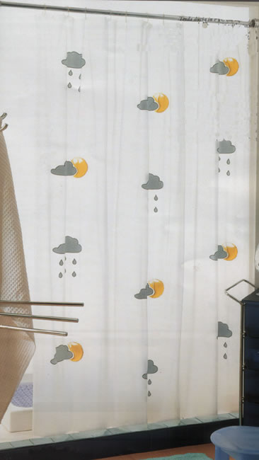 Gedy Meteo Shower Curtain
