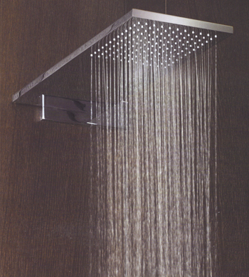 Bathroom on Fantini Milano Bathroom Shower Head  Milano Is Shown With A Wall