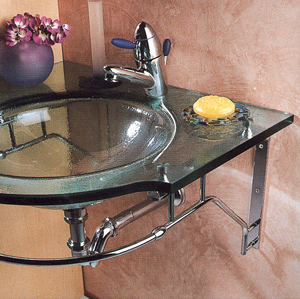 Mobel Glass Basins