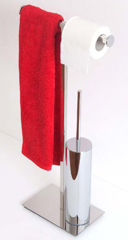 Regia Mondrian Toilet Brush Holders