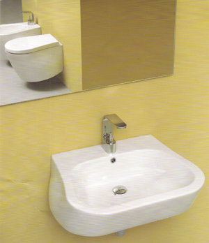 NIC Design Pillow Bathroom Sinks