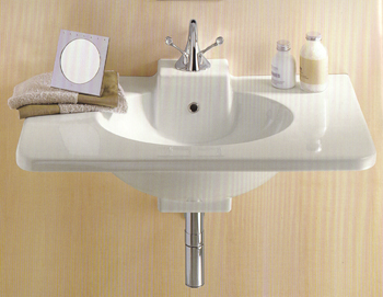 Ceramica Dolomite Piano Bathroom Basins