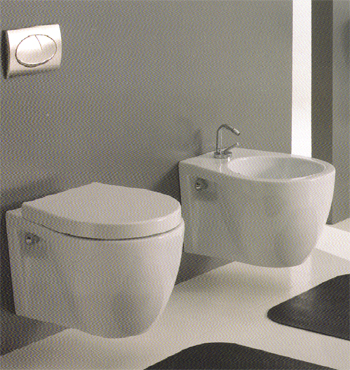 Ceramica Esedra Poing Bathroom Toilets