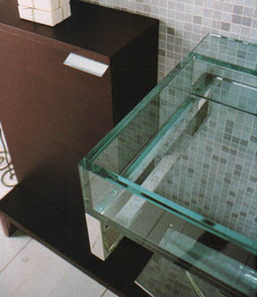 Tenda Dorica Puzzle Glass Sinks