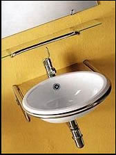 Agape Secchia Stainless Steel Basins