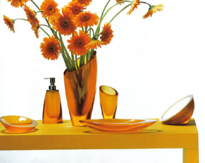 Regia Sweet, glass bathroom accessories - giant.co.uk :  interior design design bathroom colors