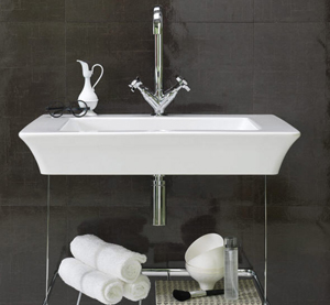 Retro Sinks Bathroom : Regia Vintage retro bathroom sinks - in 2 dimensions.