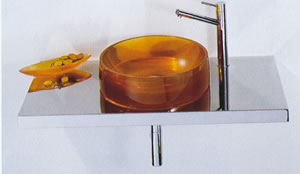 Regia Rotero Glass Basins