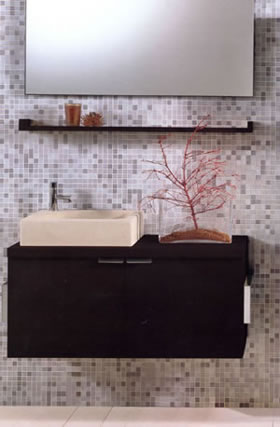 Tenda Dorica Puzzle Bathroom Cabinets