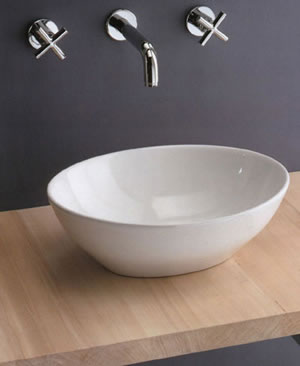 scarabeo ovo bathroom basins. Black Bedroom Furniture Sets. Home Design Ideas
