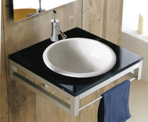 Scarabeo In-Out Bathroom Basins