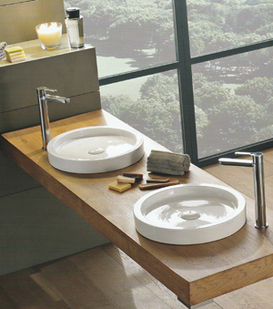 Scarabeo Bucket Bathroom Basins