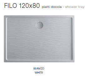 Scarabeo Filo Shower Trays