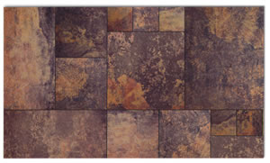 Mirage Pietre Slate Multicolor Bathroom Tiles