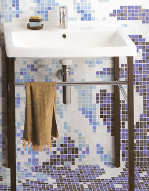 Simas Rettangolare Bathroom Basins