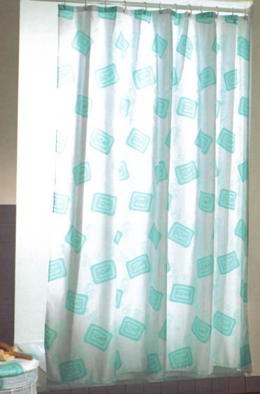 Gedy Soap Shower Curtain