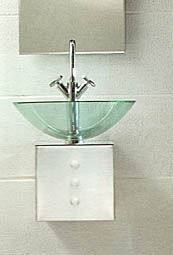Tulli Zuccari Cubo Bathroom Sinks