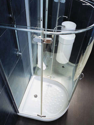 Flaminia Twin Space Shower Enclosure