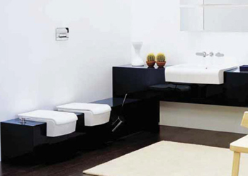 Flaminia Una Semi-Reccesed Bathroom Sinks