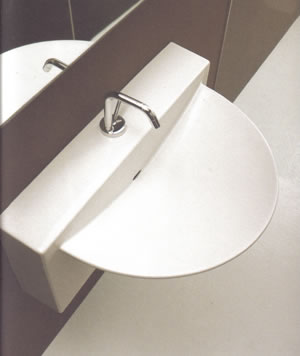 Vitruvit Wall Bathroom Basins