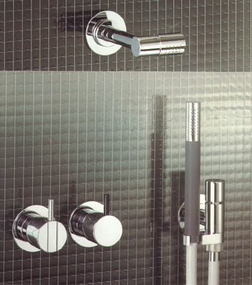 Bathroom on Vola 471 081  Bathroom Shower Taps  Consisting Of Deviators With 2 5cm