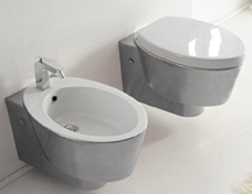 Toilets, Wall Mounted Toilet
